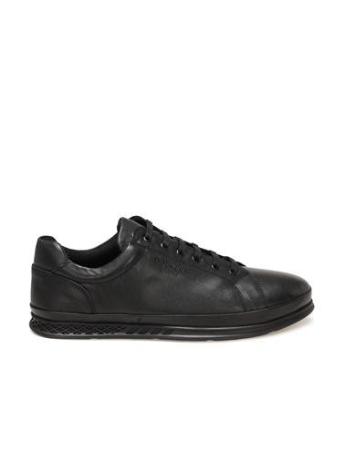 Dockers by Gerli Dockers By Gerli Erkek Düz Siyah Deri Bağcıklı Günlük Ayakkabı 1P 230225 1Fxh Siyah